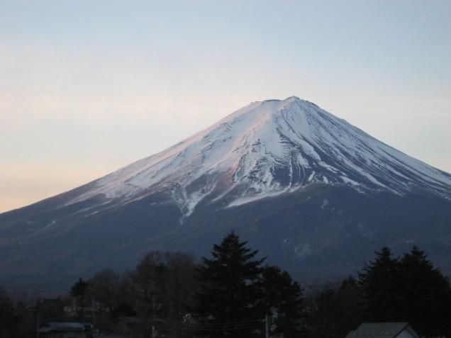 1月23日富士山