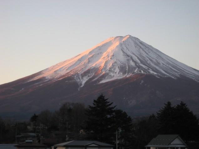1月27日富士山