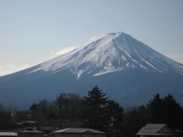 1月28日富士山