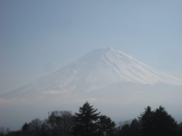 2月20日午後の富士山