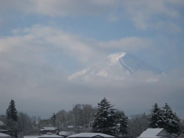 3月8日富士山