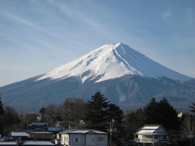 3月18日富士山