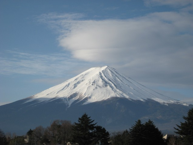 3月19日富士山
