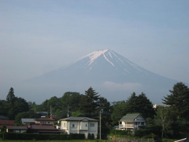 6月14日富士山