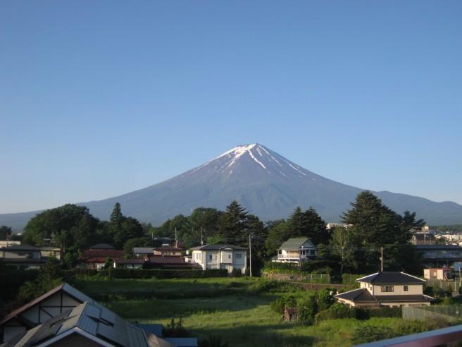 6月22日富士山