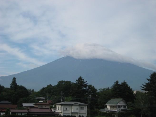 6月24日富士山