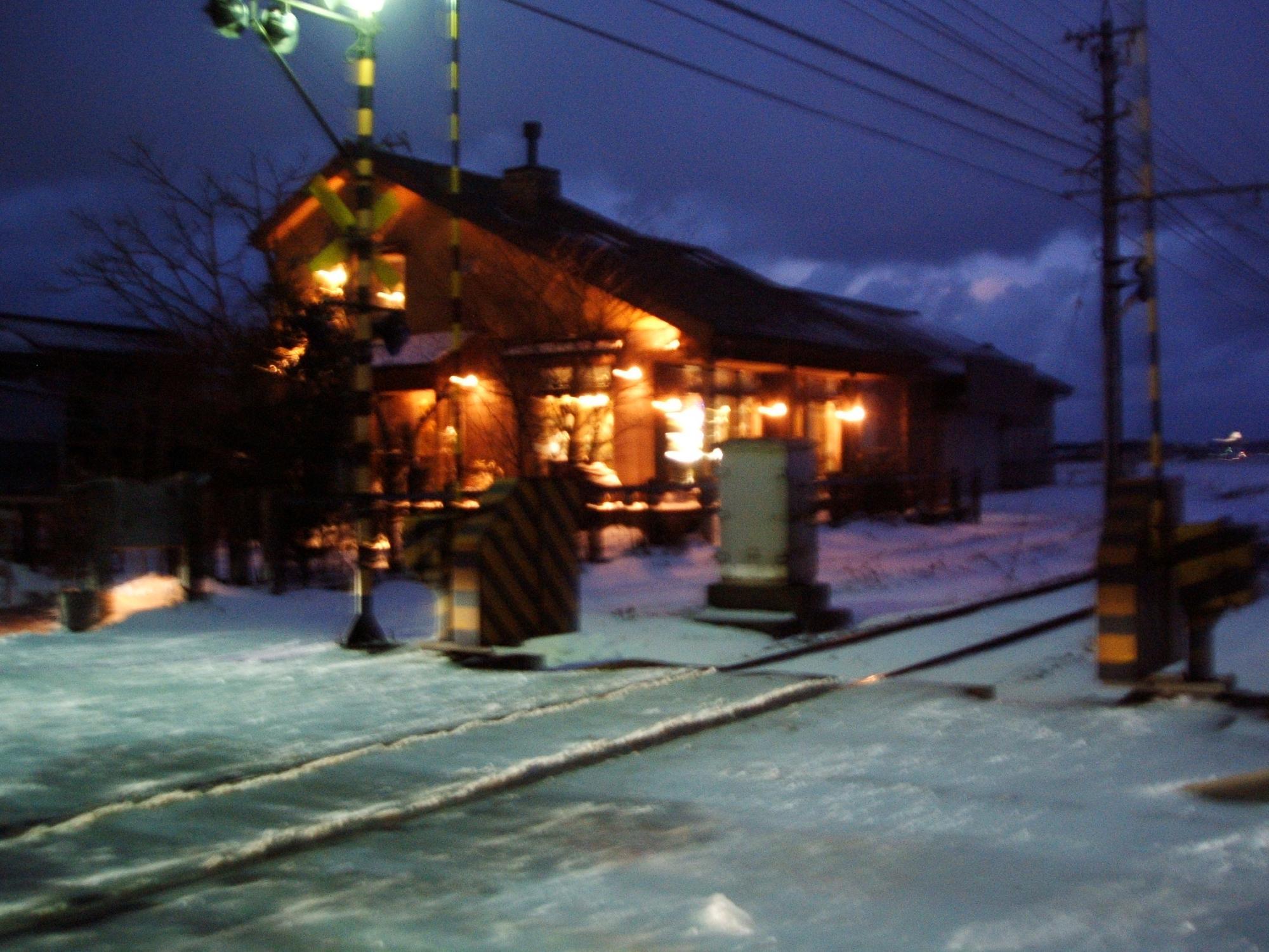 3月3日、雪との格闘の夜