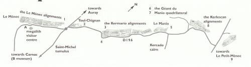 カルナック地図