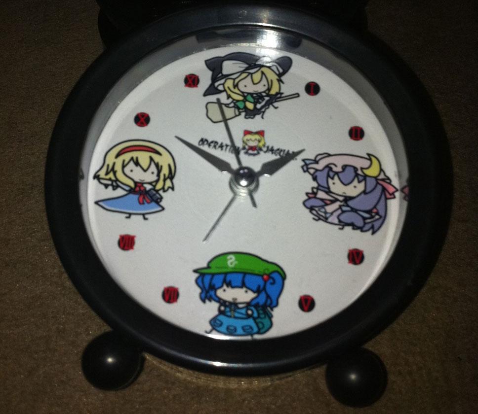 アラーム時計魔理沙組