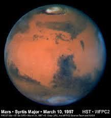 火星の写真