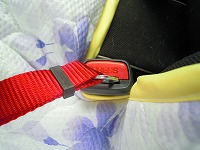 乗車用ベルト シートベルトアンカー固定タイプ