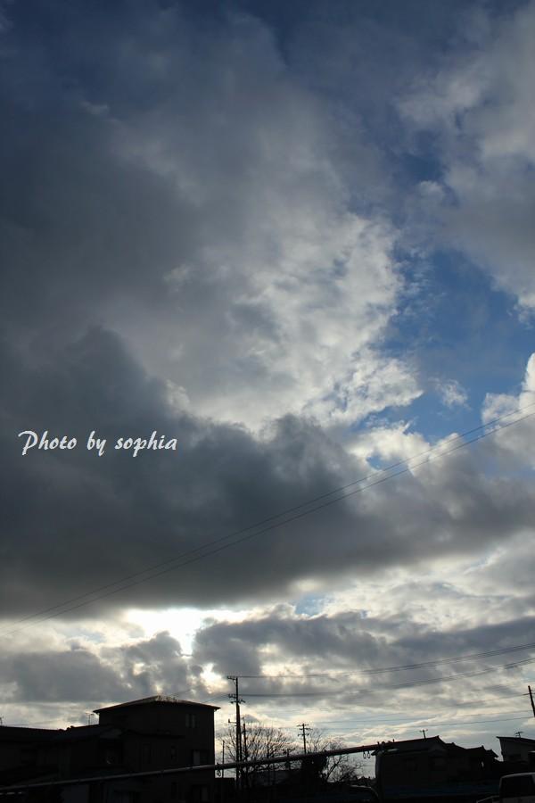 2013年12月17日の空