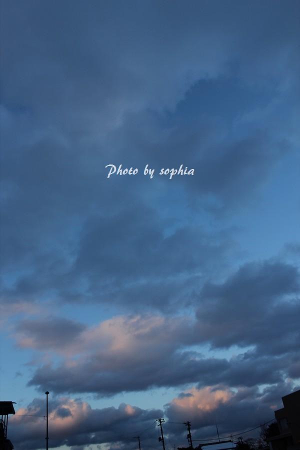 2014年1月14日の空