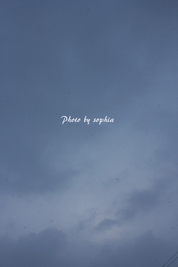 2014年1月17日の空