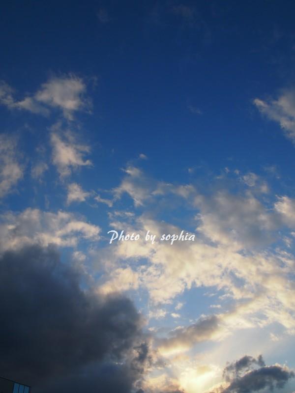 2014年1月2日の空