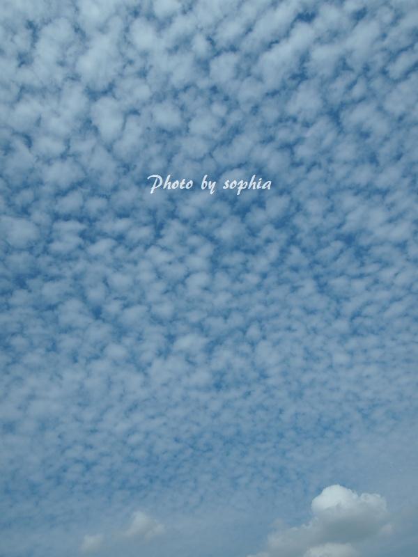 2013年9月10日の空