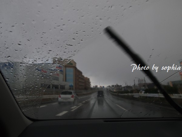 3分後の風雨