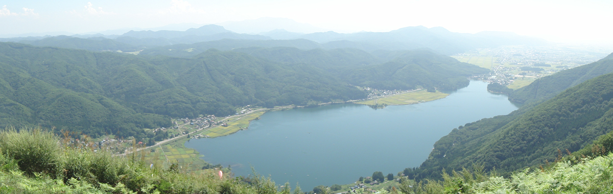 木崎湖、絶景カナ