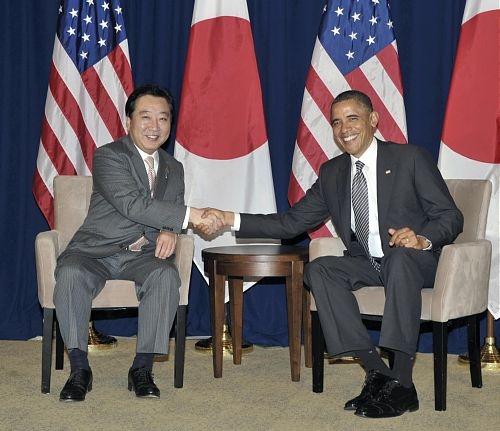 ◆2011.11.13 野田首相、米大統領にTPP交渉参加を表明