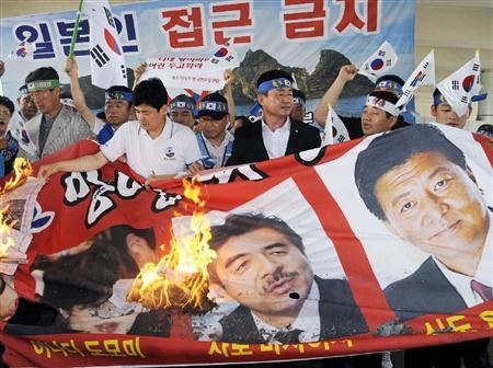 ◆韓国、自民3議員の入国拒否