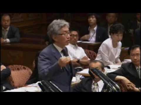 ◆【衝撃国会】 西田砲炸裂!売国奴野田に韓国民団献金を追求