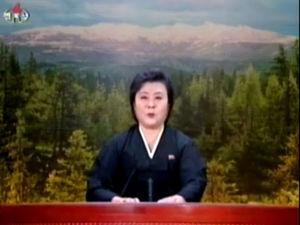 ◆2011.12.19 金正日総書記の死去を伝える朝鮮中央テレビ