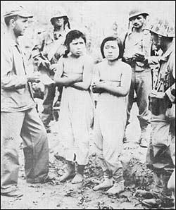 朝鮮戦争時に米軍が逮捕した人民軍看護婦