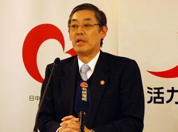 ・外務省の横井裕報道官 0568