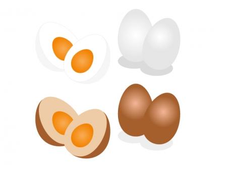 ゆで玉子卵