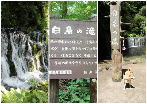 page 日和 白糸の滝