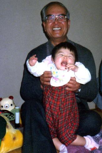 爺ちゃんと孫