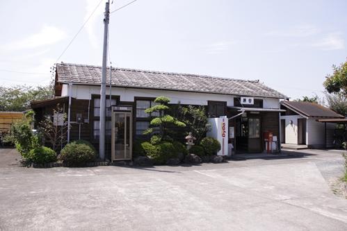 原谷駅全景