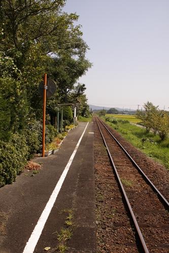 細谷駅ホーム掛川方面