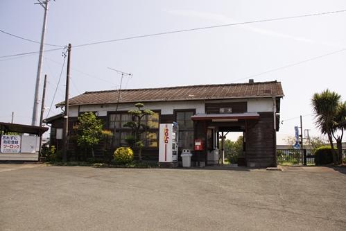 桜木駅駅舎全景