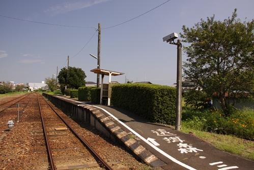 桜木駅反対側ホーム