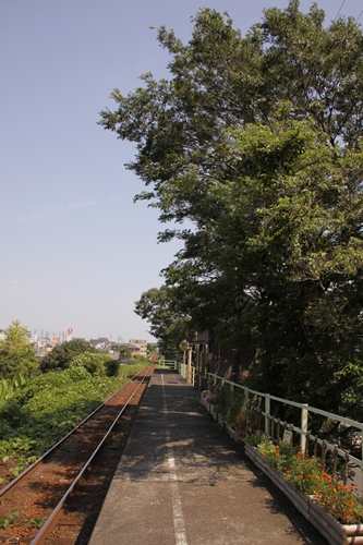 西掛川駅ホーム掛川方面