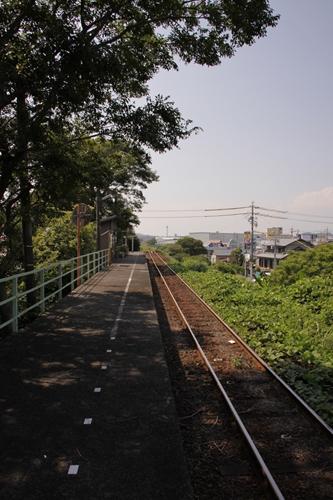 西掛川駅ホーム新所原方面