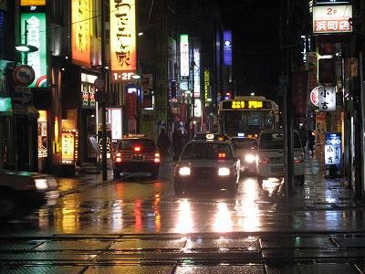 12月30日夜の長崎