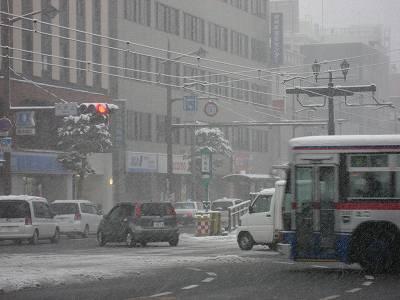 12月31日朝の長崎