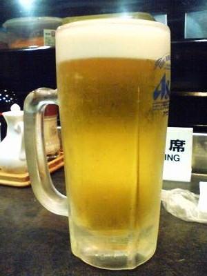三種の神器 生ビール