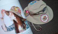 ワッペン帽子