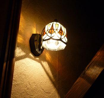 夜間照明玄関4