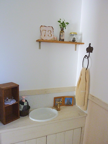 トイレタオルかけ設置
