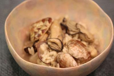 顎牡蛎アサリ
