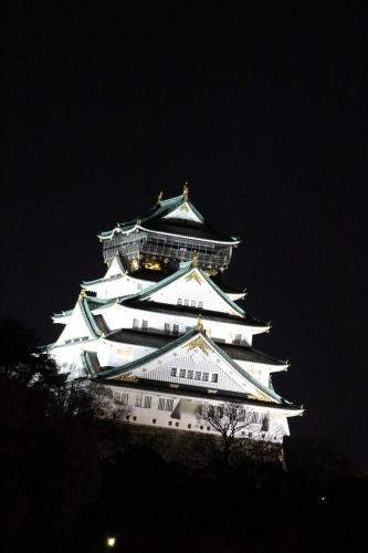 大阪城3D