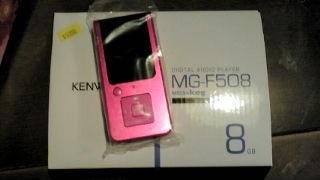 KENWOODの8GBMP3プレイヤー「MG-F508」