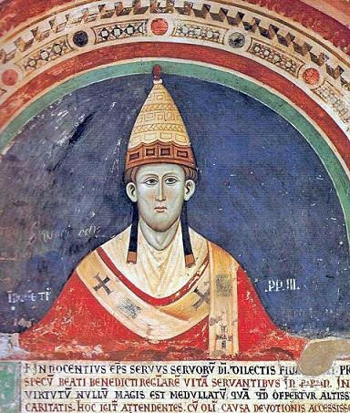 第176代 ローマ教皇 イノセント三世