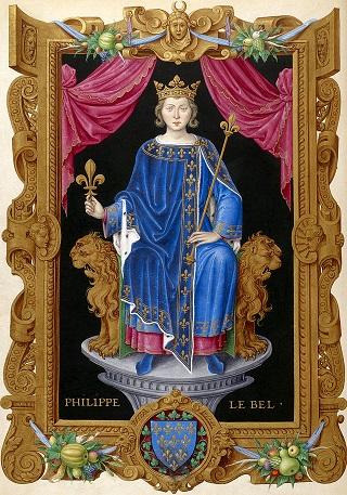 フランス国王 フィリップ4世