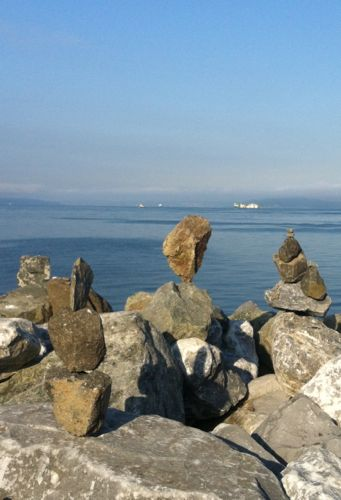 シアトルの海岸
