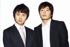 20110524オードリー若林&田中圭がお笑いコンビ結成、舞台「芸人交換日記」